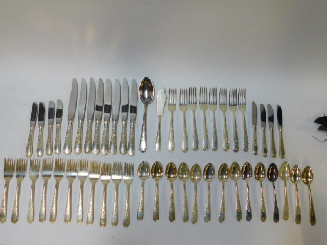 KIRK & SON'S STERLING SILVER FLATWARE SET