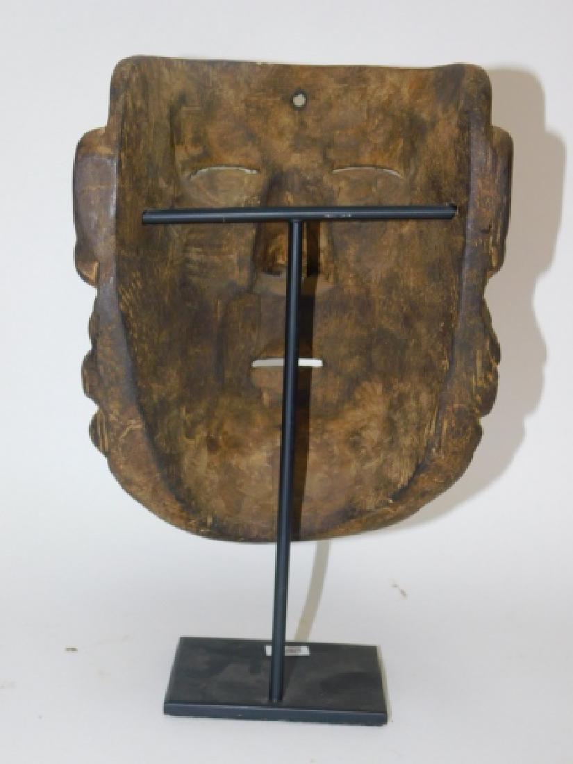 WOOD CARVED MASK - 3