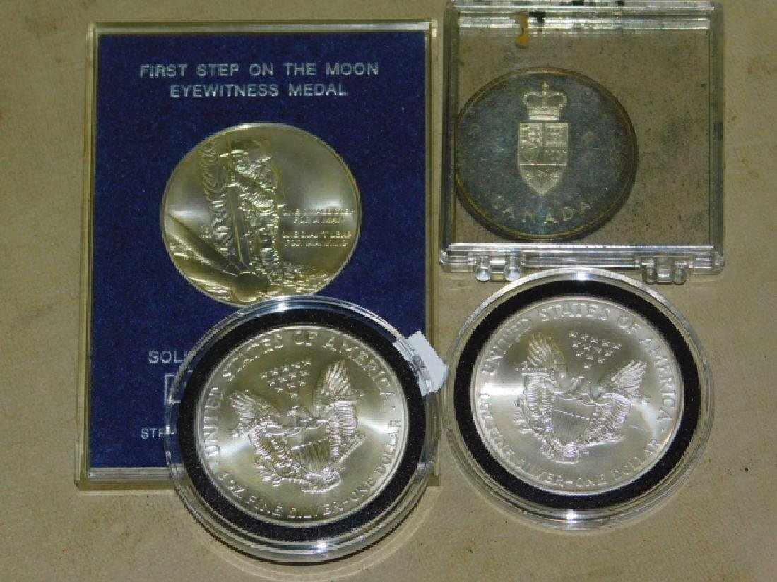 WALKING LIBERTY COINS, AND TWO MORE