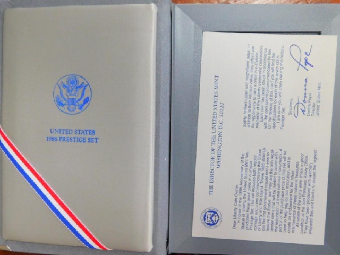 1986 PRESTIGE PROOF SET - 5