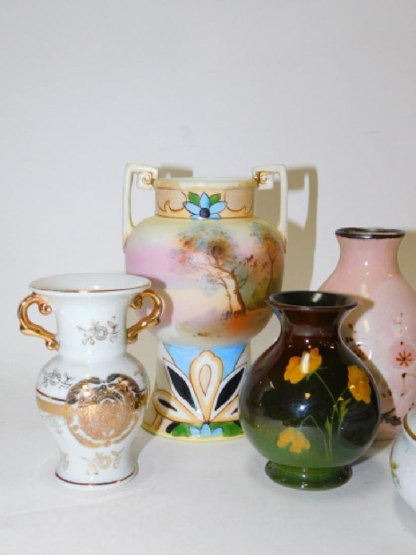 COLLECTION OF SMALL VASES AND TRINKET BOXES - 5