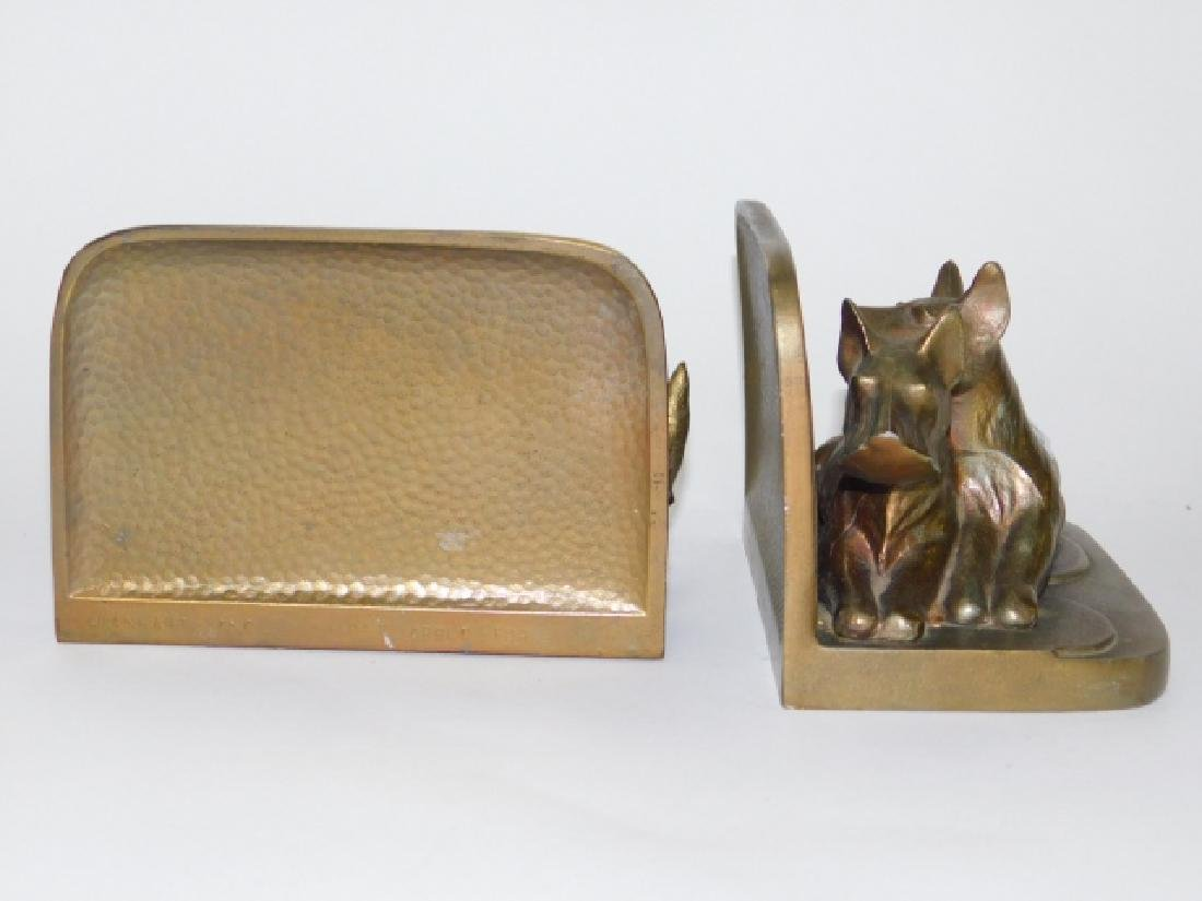 PAIR OF FRANKART BOOKENDS - 4