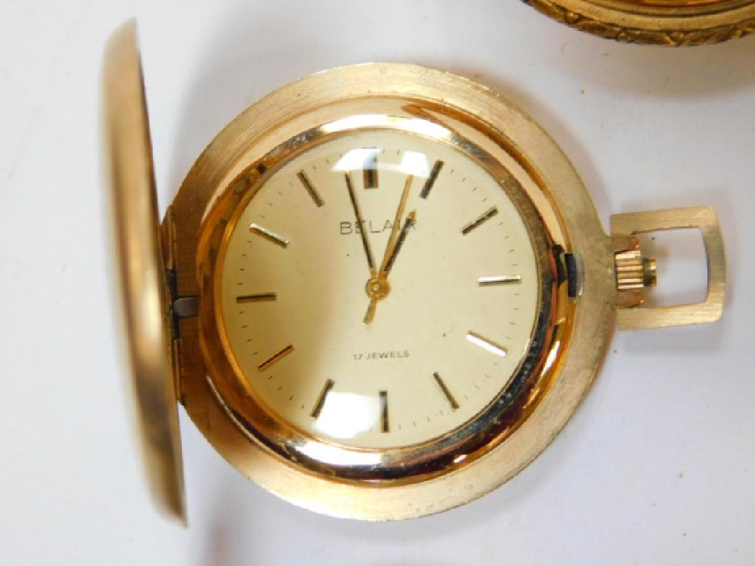 COLLECTION OF VINTAGE POCKET WATCHES - 8