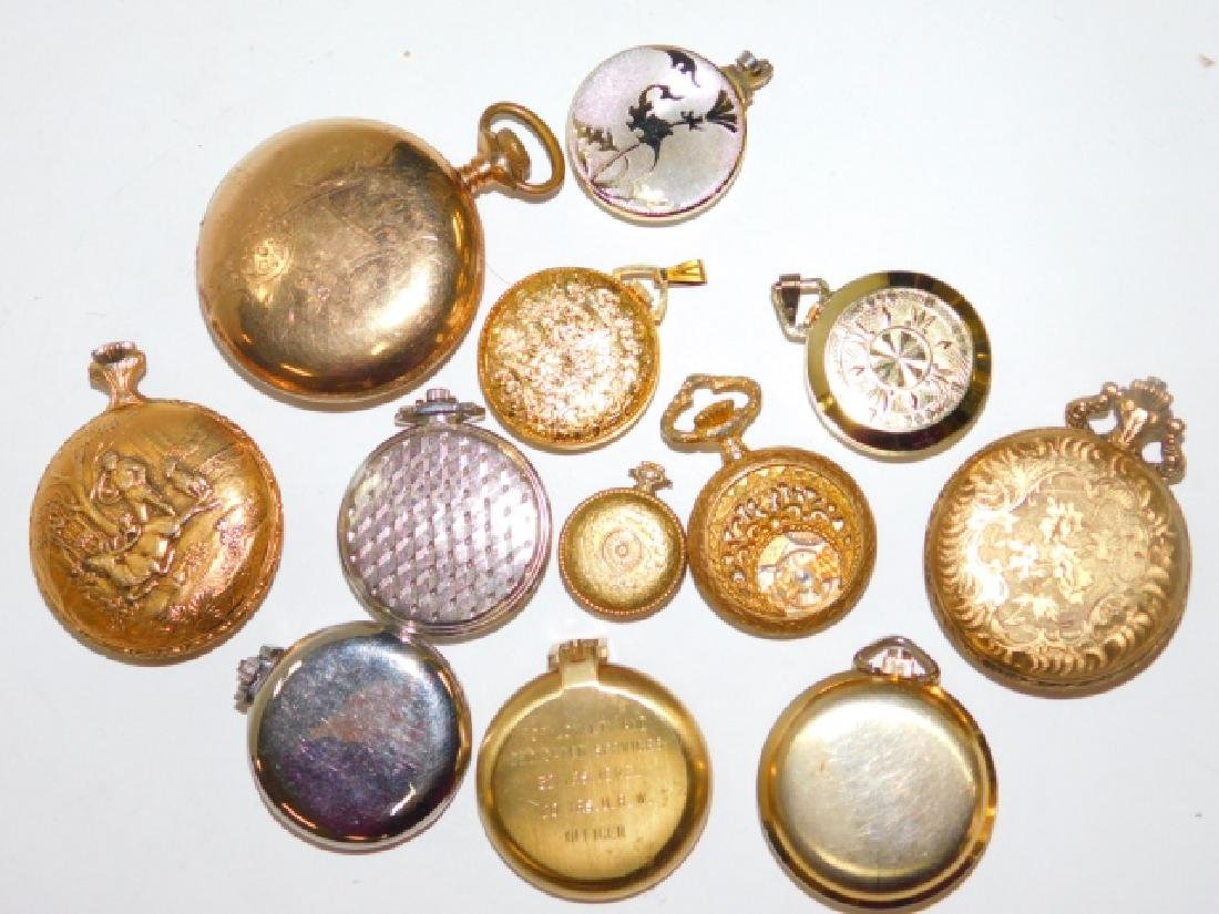 COLLECTION OF VINTAGE POCKET WATCHES - 9