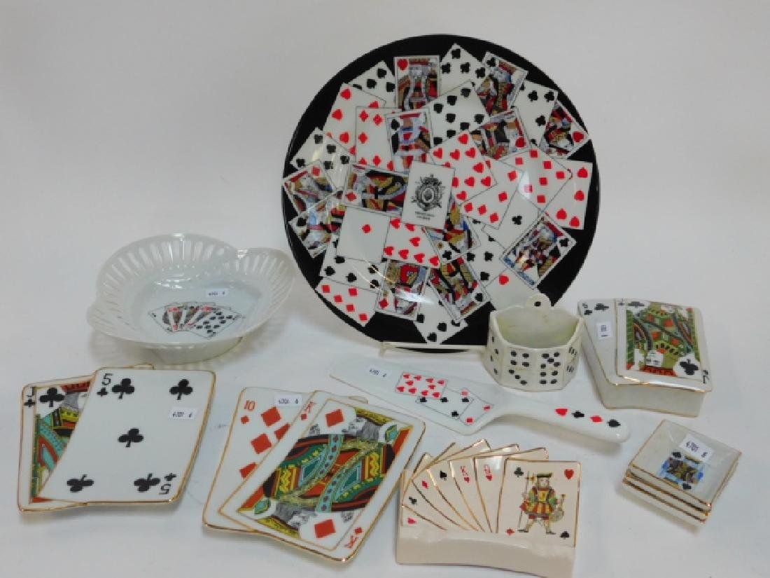 POKER/PLAYING CARD THEMED DISHES