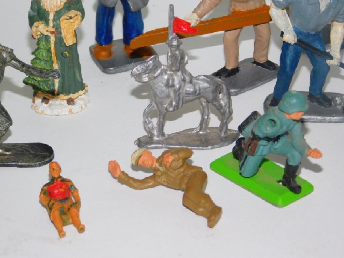 COLLECTION OF LEAD SOLDIERS, FIGURES, AND ANIMALS - 6