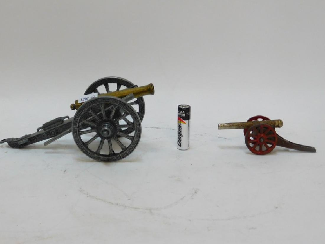 COLLECTION OF  CANNONS - 2