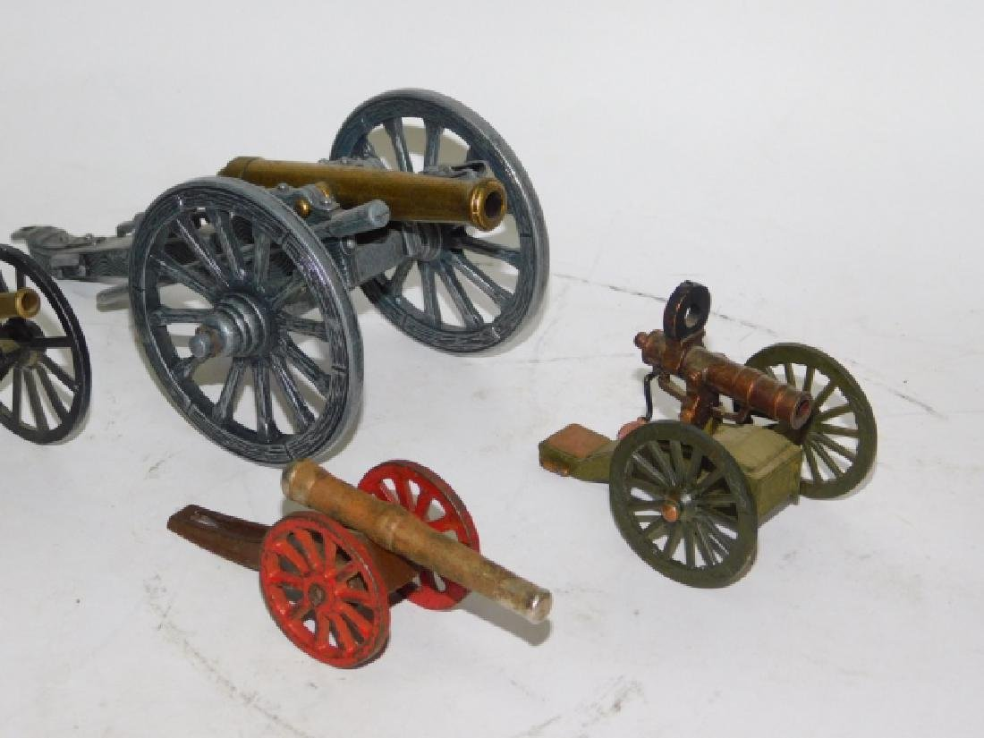 COLLECTION OF  CANNONS - 3