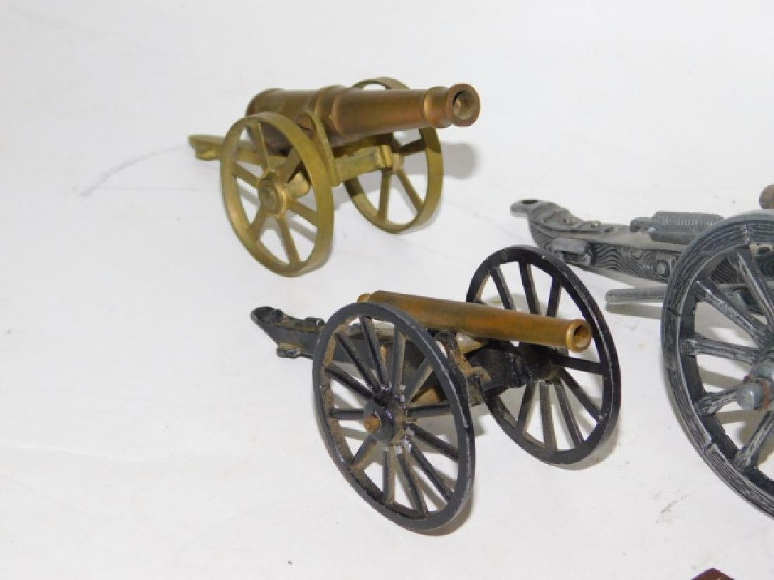 COLLECTION OF  CANNONS - 4