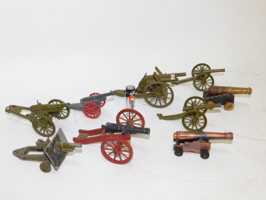 COLLECTION OF CANNONS