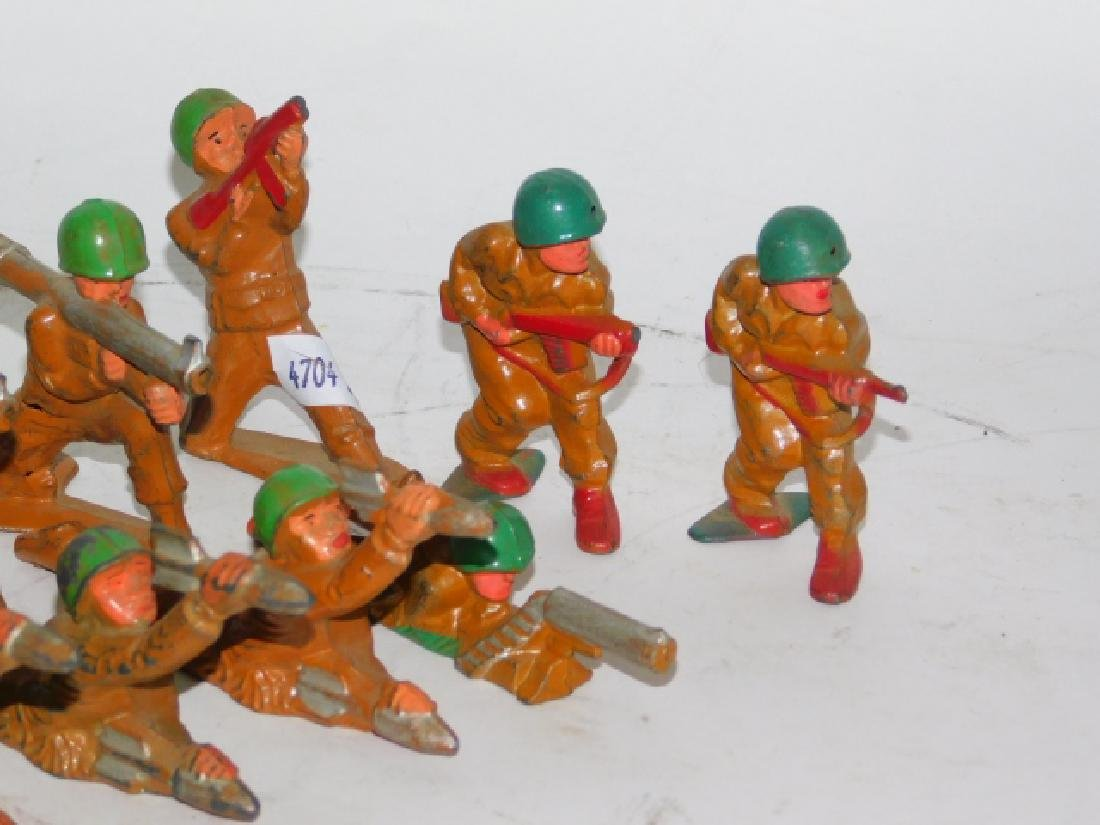 COLLECTION OF LEAD SOLDIERS - 6