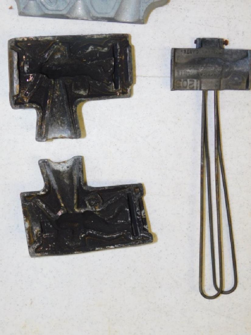 LEAD SOLDIER MOLDS - 2