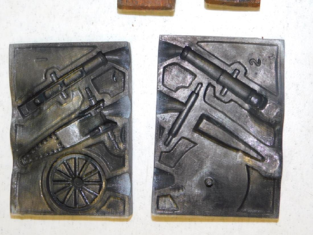 LEAD SOLDIER MOLDS - 5