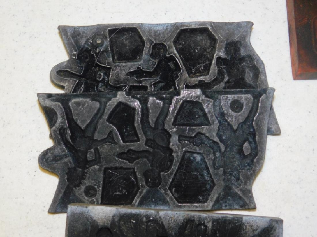 LEAD SOLDIER MOLDS - 4