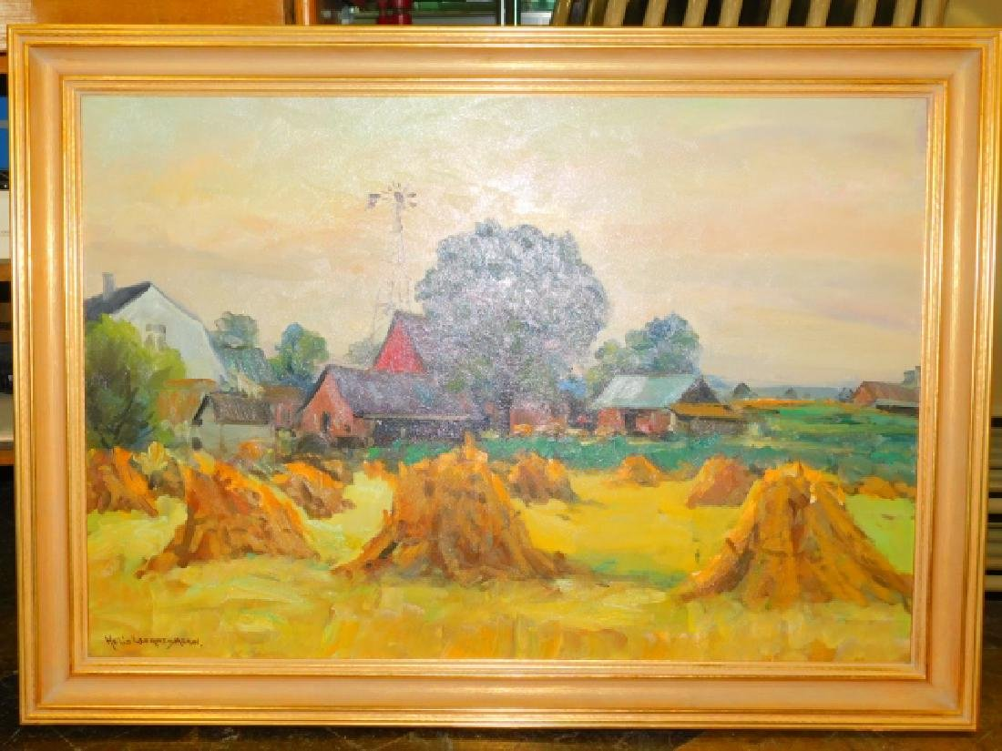 WERNEGREEN, H. OIL ON CANVAS