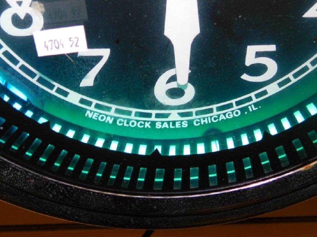 NEON WALL CLOCK - 2