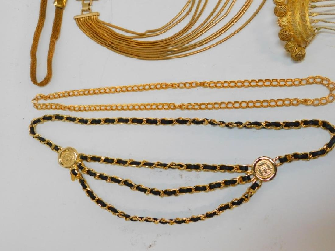 COLLECTION OF COSTUME JEWELRY AND ACCESSORIES - 6