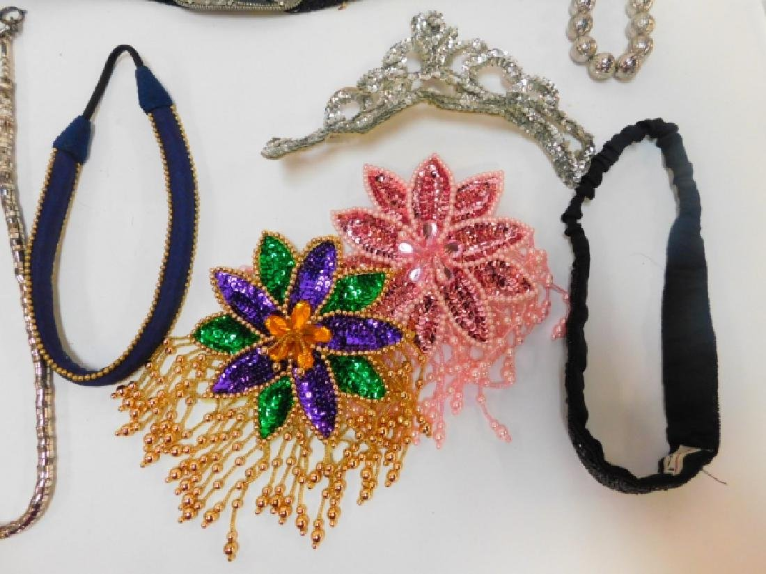 LARGE LOT COSTUME JEWELRY AND ACCESSORIES - 2