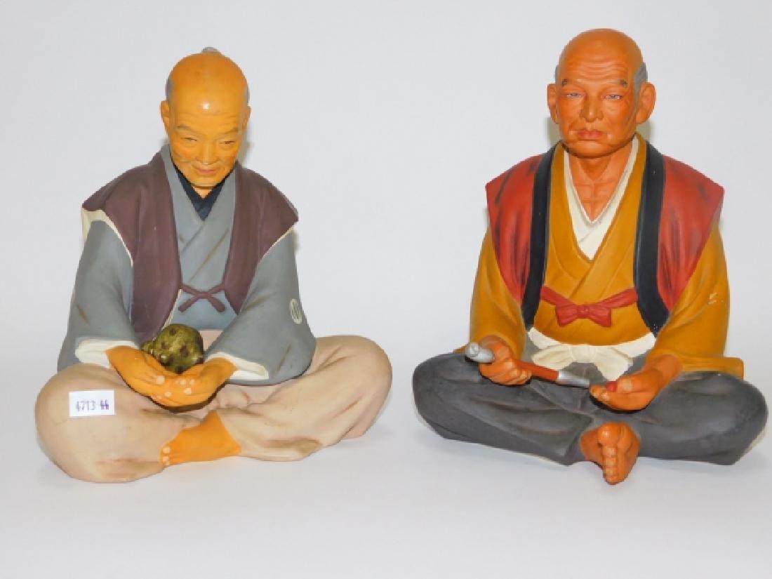 PAIR OF HAKATA URASAKI DOLLS