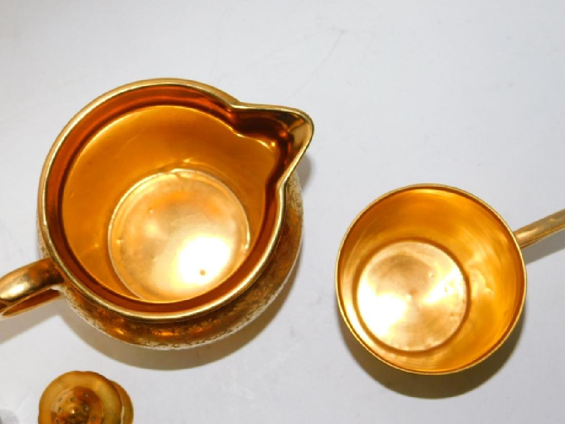 PORCELAIN PAINTED DISHES - 5