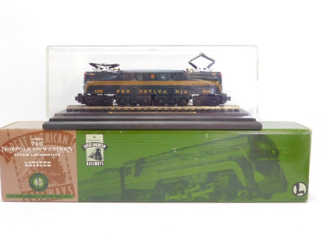 TWO HALLMARK GREAT AMERICAN RAILWAY TRAIN CARS
