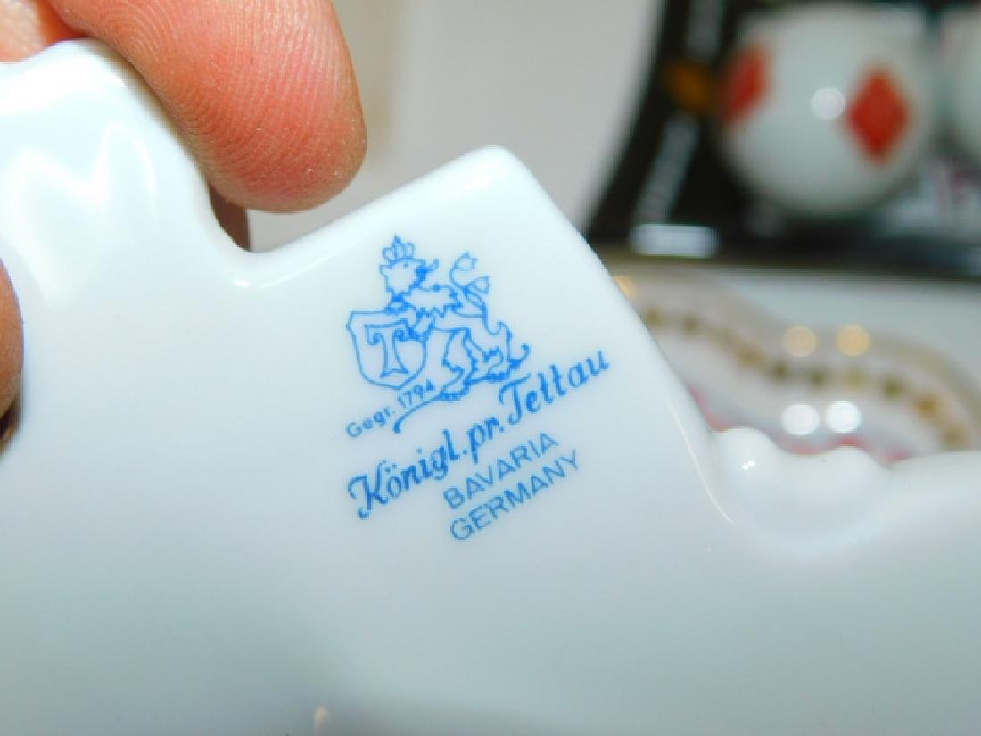 COLLECTION OF PLAYING CARD DISHES - 7