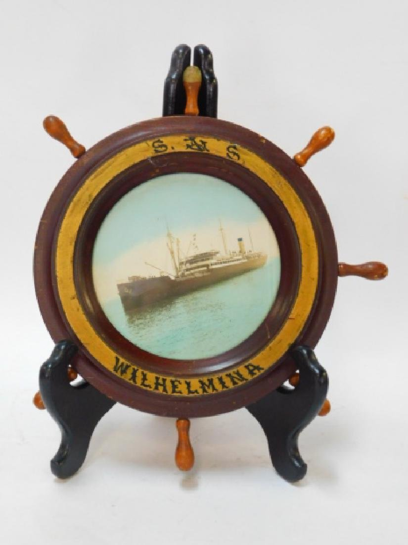 PHOTO OF GERMAN WWII GERMAN TORPEDO SHIP