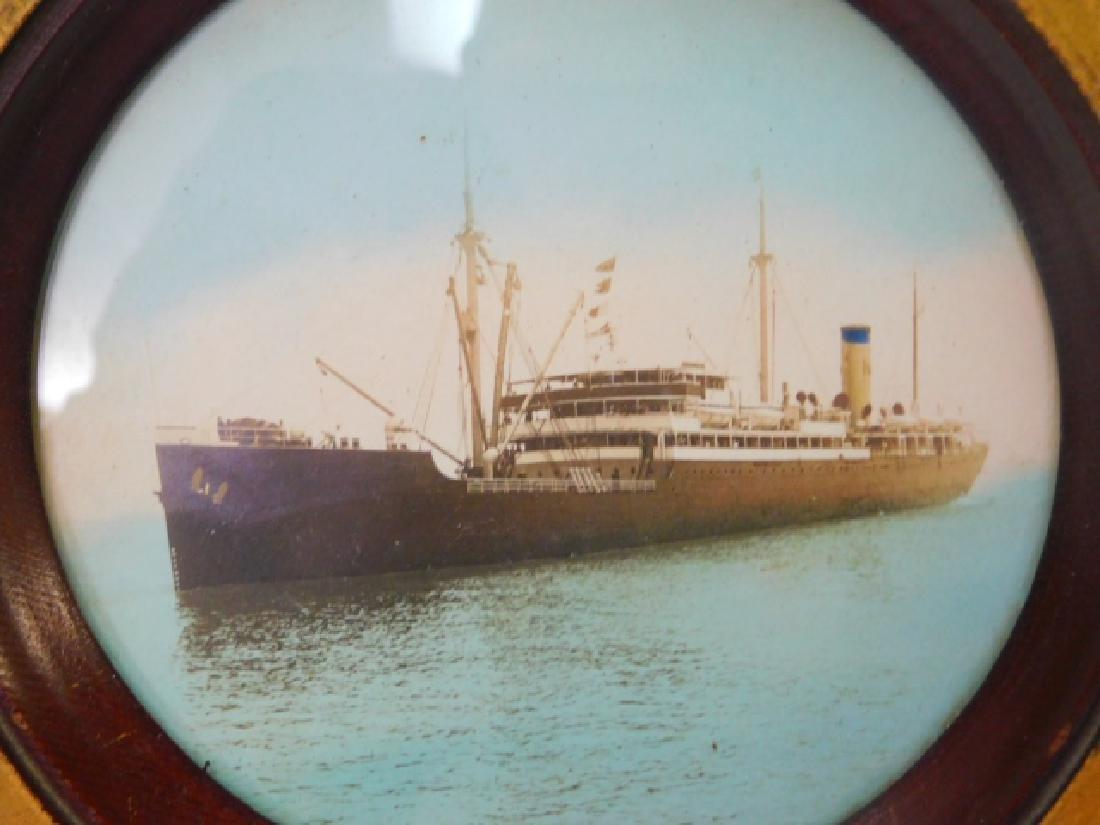 PHOTO OF GERMAN WWII GERMAN TORPEDO SHIP - 2