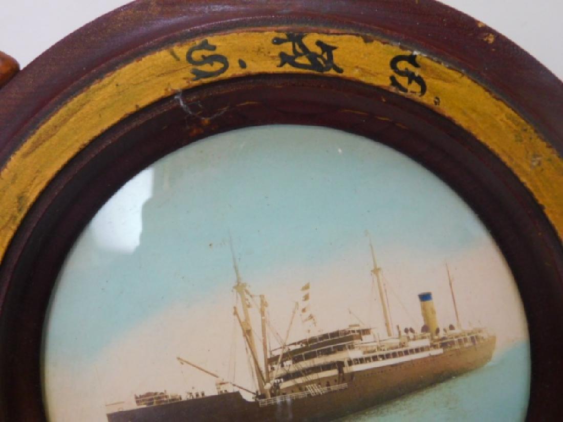 PHOTO OF GERMAN WWII GERMAN TORPEDO SHIP - 4