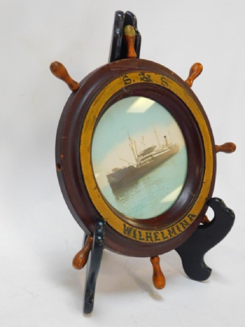 PHOTO OF GERMAN WWII GERMAN TORPEDO SHIP - 5