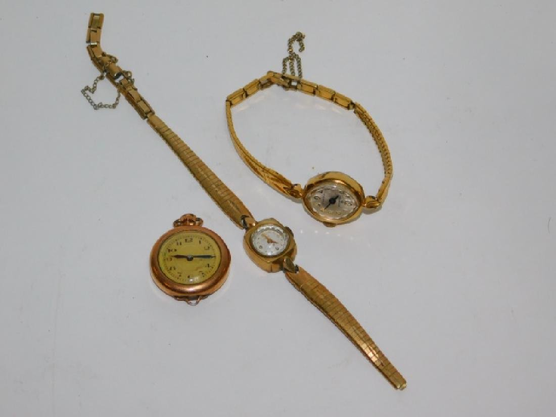 LOT OF THREE WATCHES