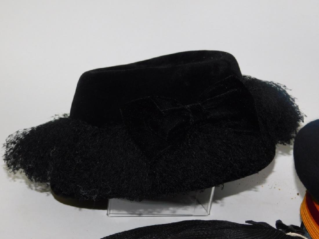 FIVE WOMEN'S HATS - 2