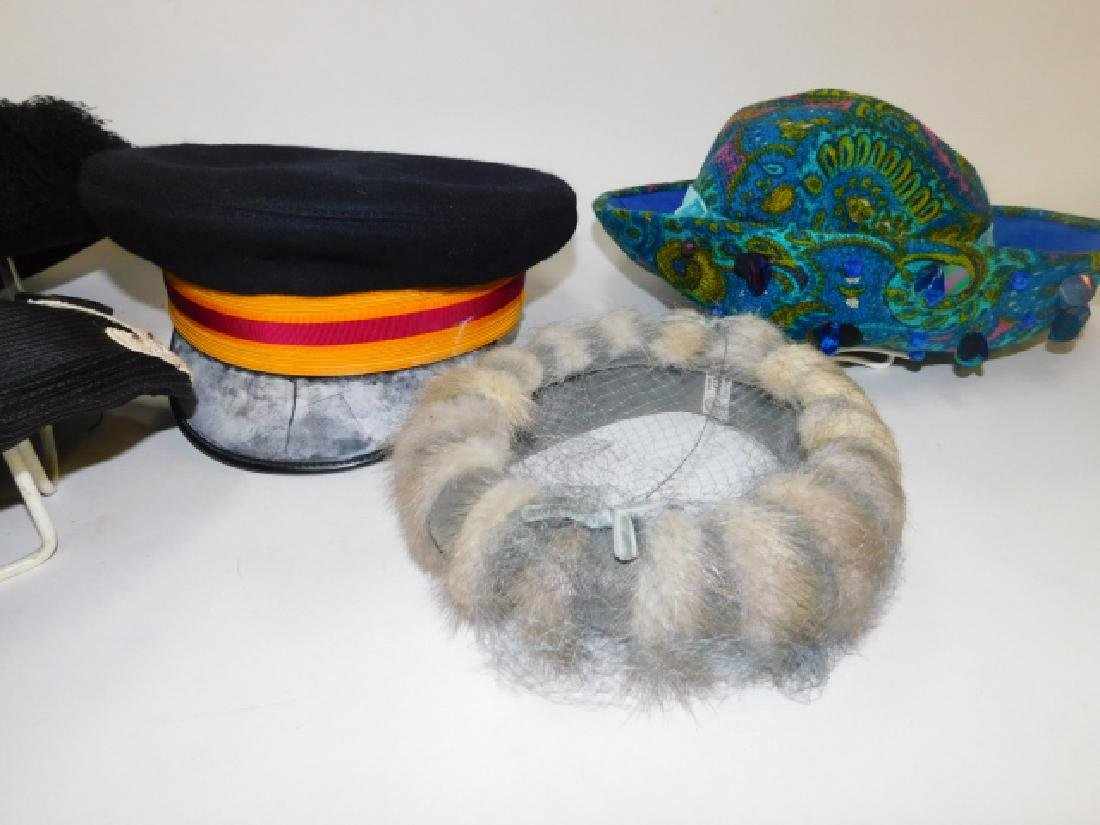 FIVE WOMEN'S HATS - 4