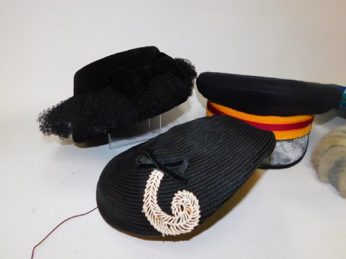 FIVE WOMEN'S HATS - 5