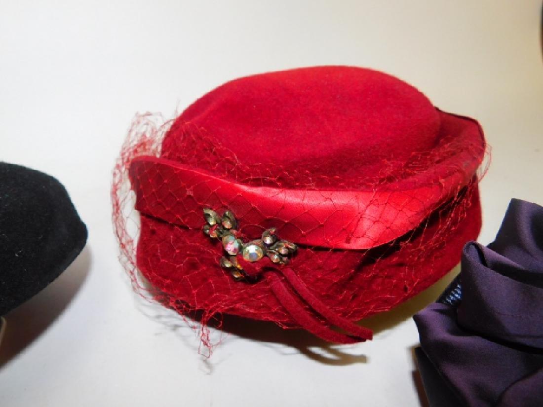 SIX WOMEN'S HATS - 2
