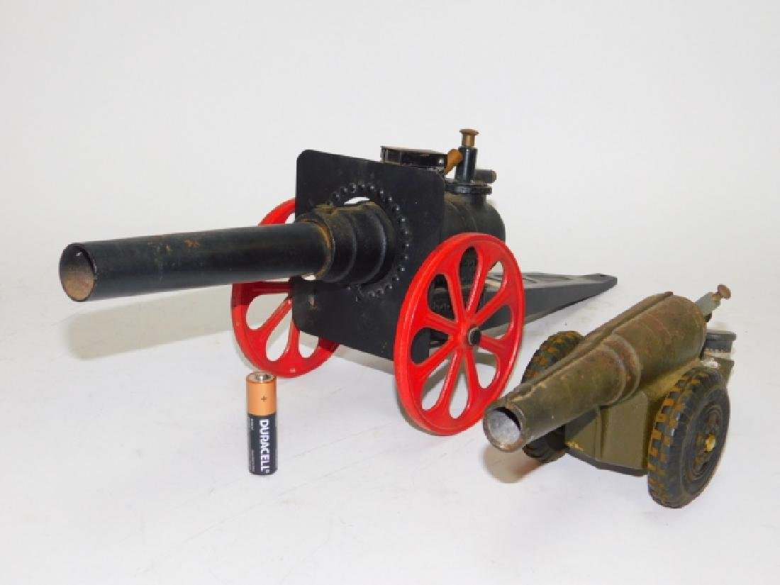 TWO CANNONS.