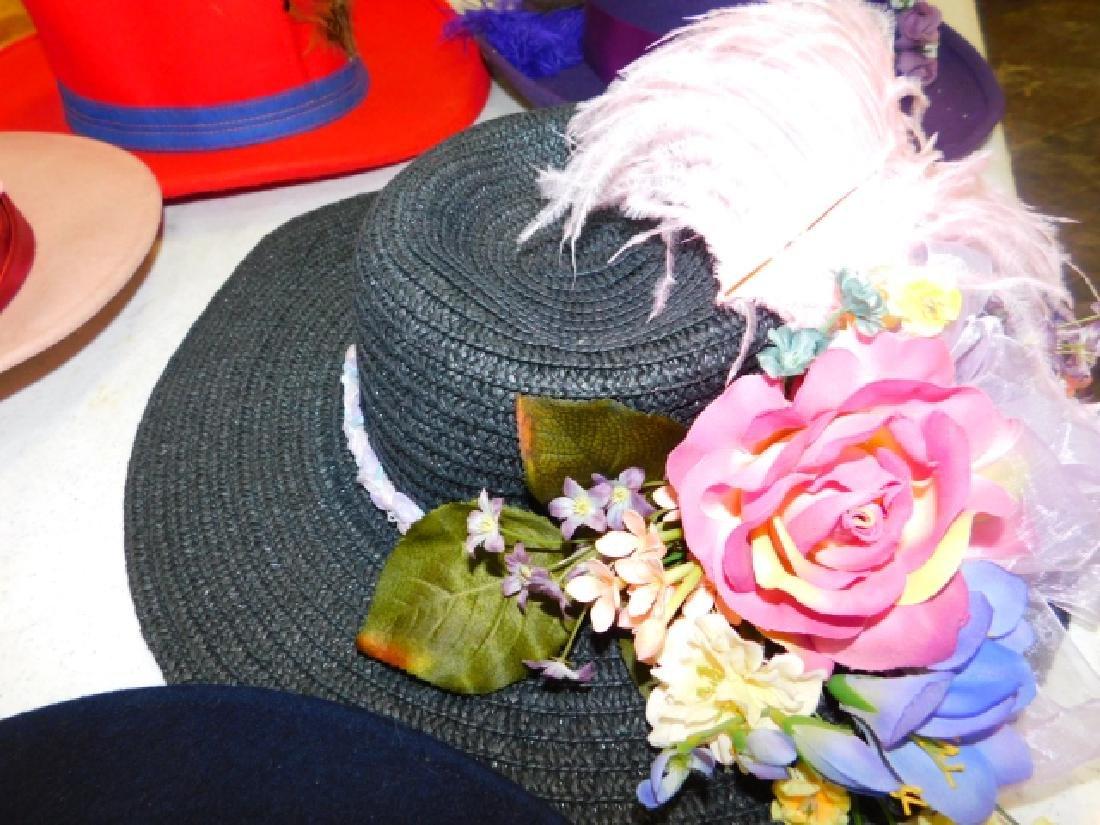 SIX WOMEN'S HATS - 6