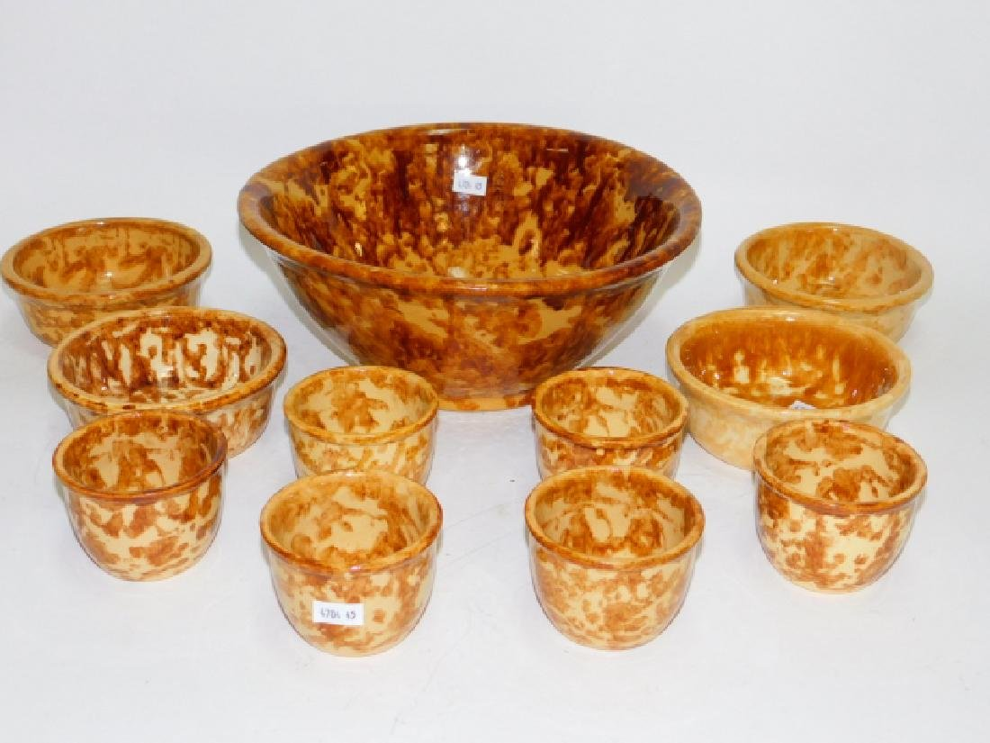 BENNINGTON POTTERY SET