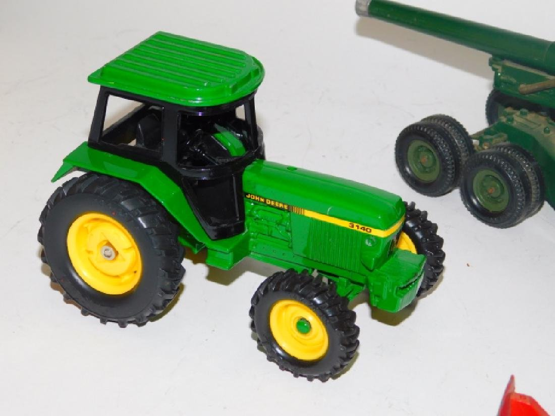 COLLECTION OF TRACTORS AND CANNON TOY'S - 2