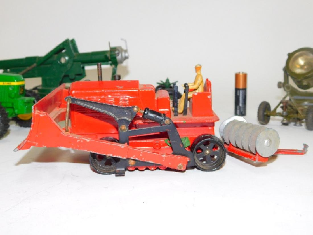 COLLECTION OF TRACTORS AND CANNON TOY'S - 7