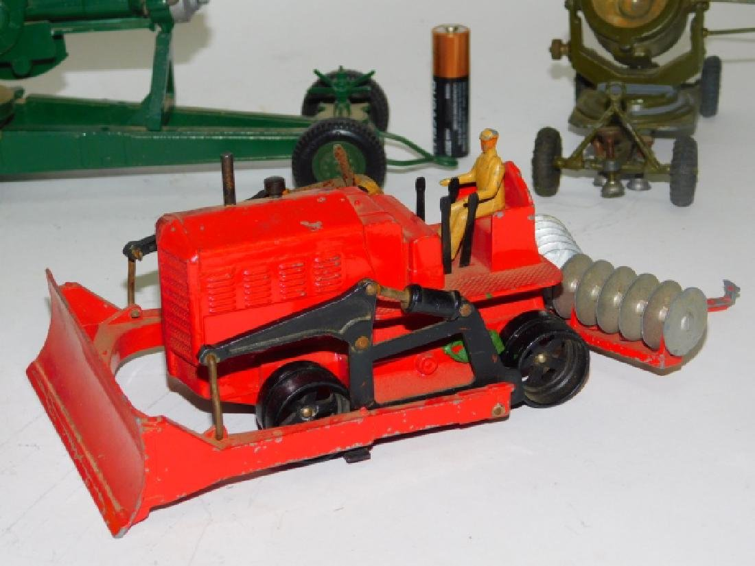 COLLECTION OF TRACTORS AND CANNON TOY'S - 8
