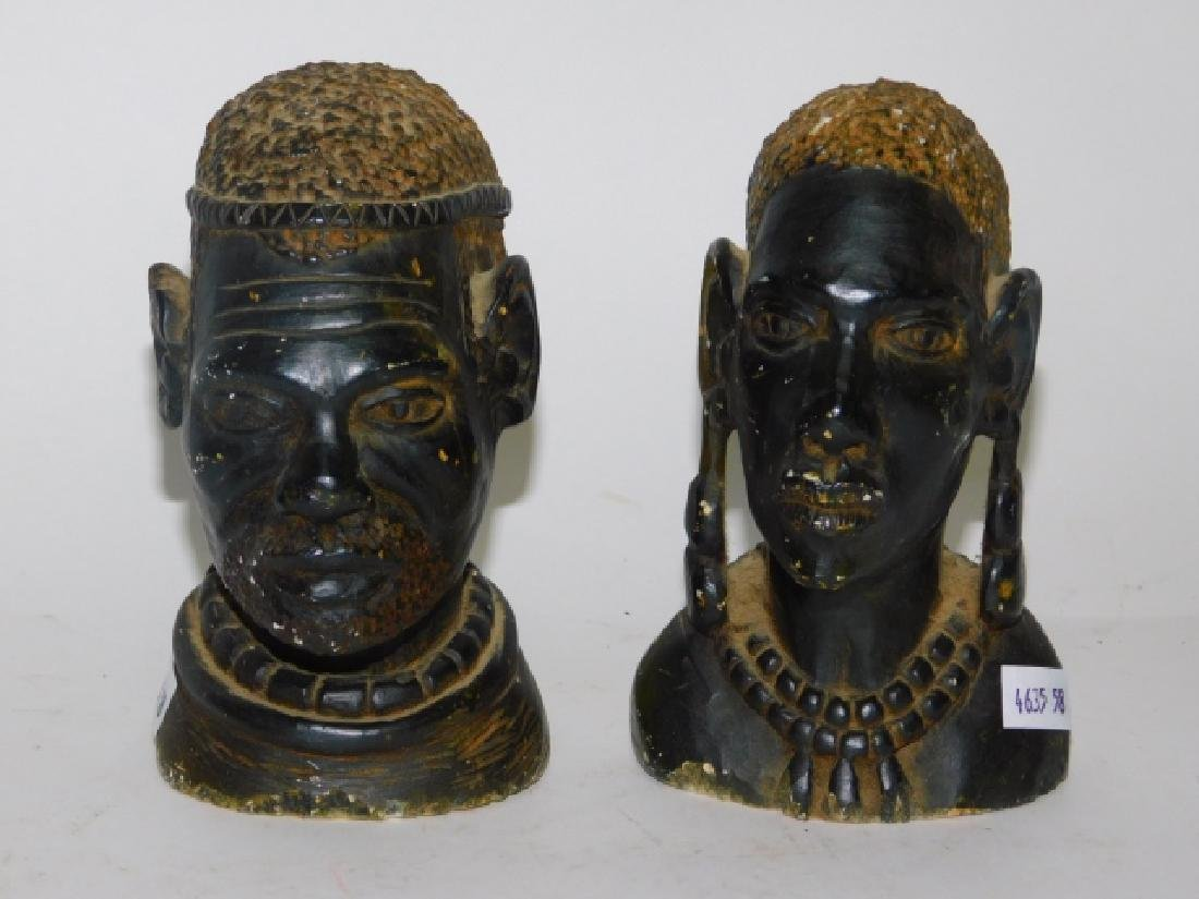 STONE CARVED BUSTS