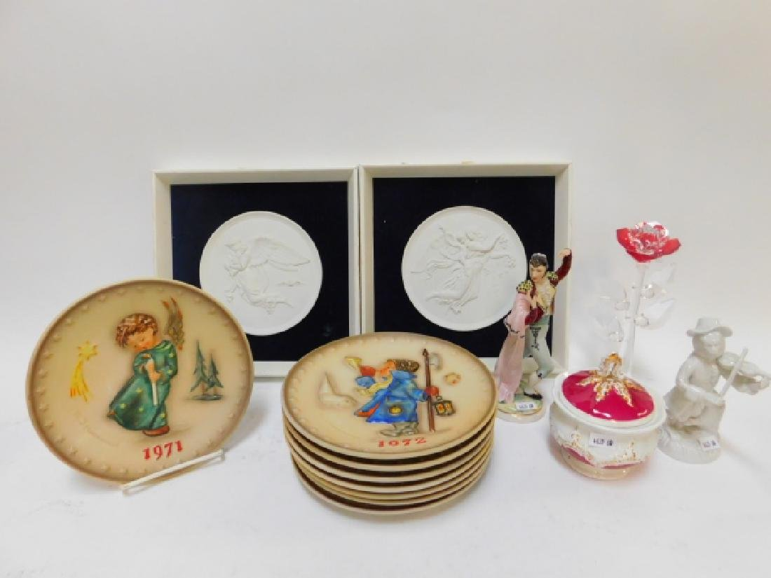 HUMMEL PLATES AND COLLECTIBLES