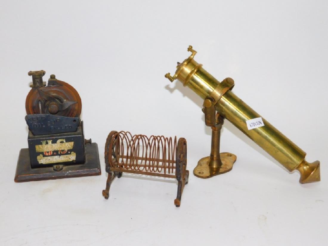 PENCIL SHARPENER, SHIP CANDLESTICK