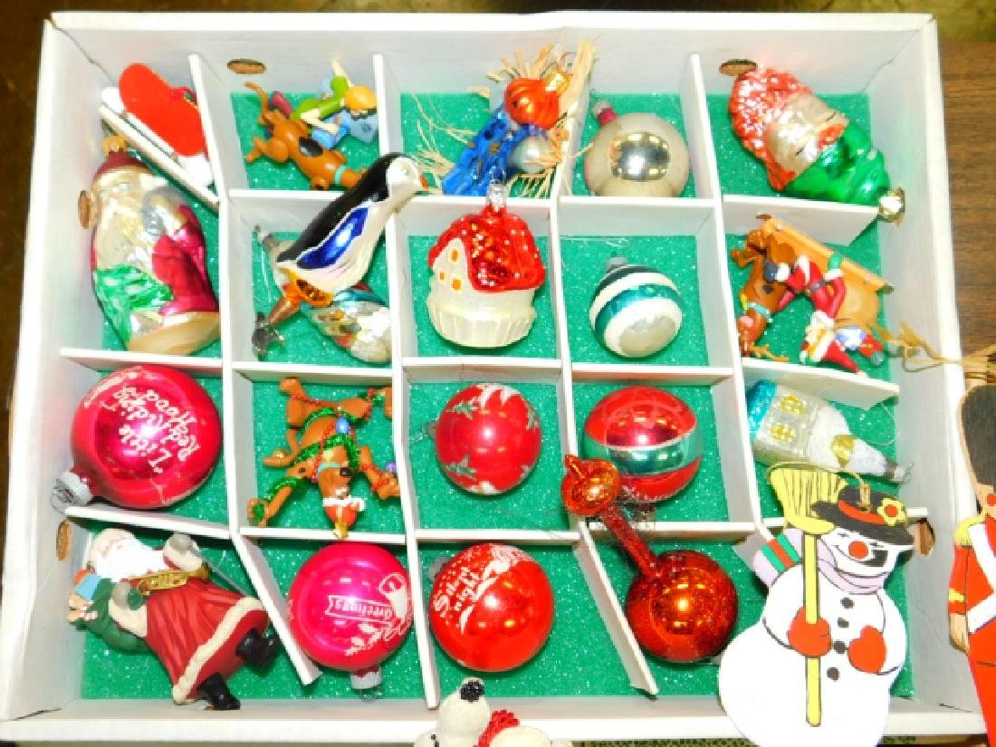 COLLECTION OF CHRISTMAS TREE ORNAMENTS - 2