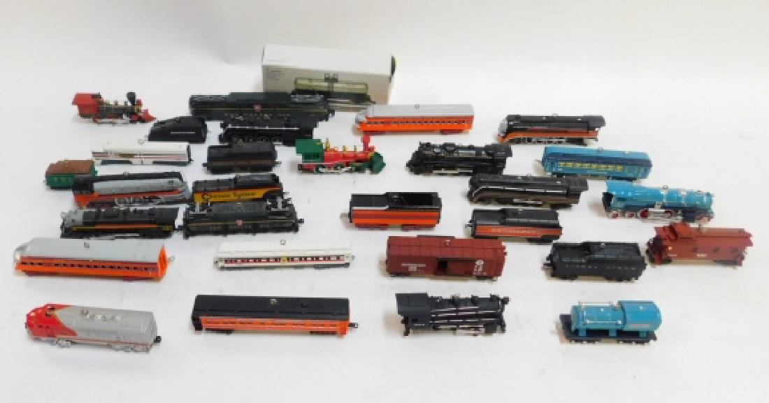 HALLMARK TRAIN CAR ORNAMENT COLLECTION