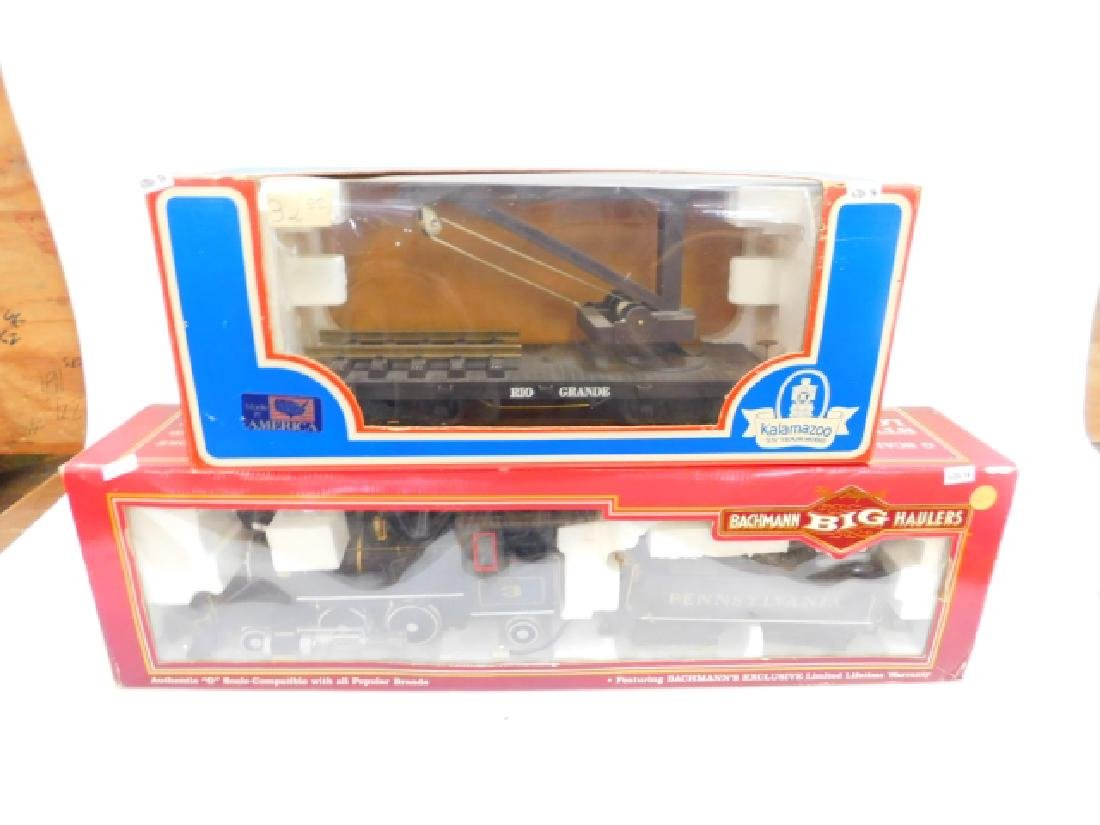 BACHMANN G LOCOMOTIVE WITH ONE MORE
