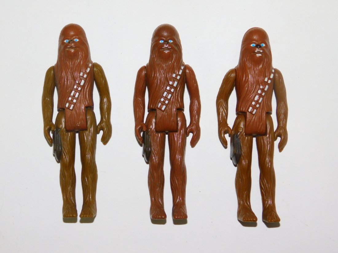 COLLECTION OF 1977 STAR WARS ACTION FIGURES - 4