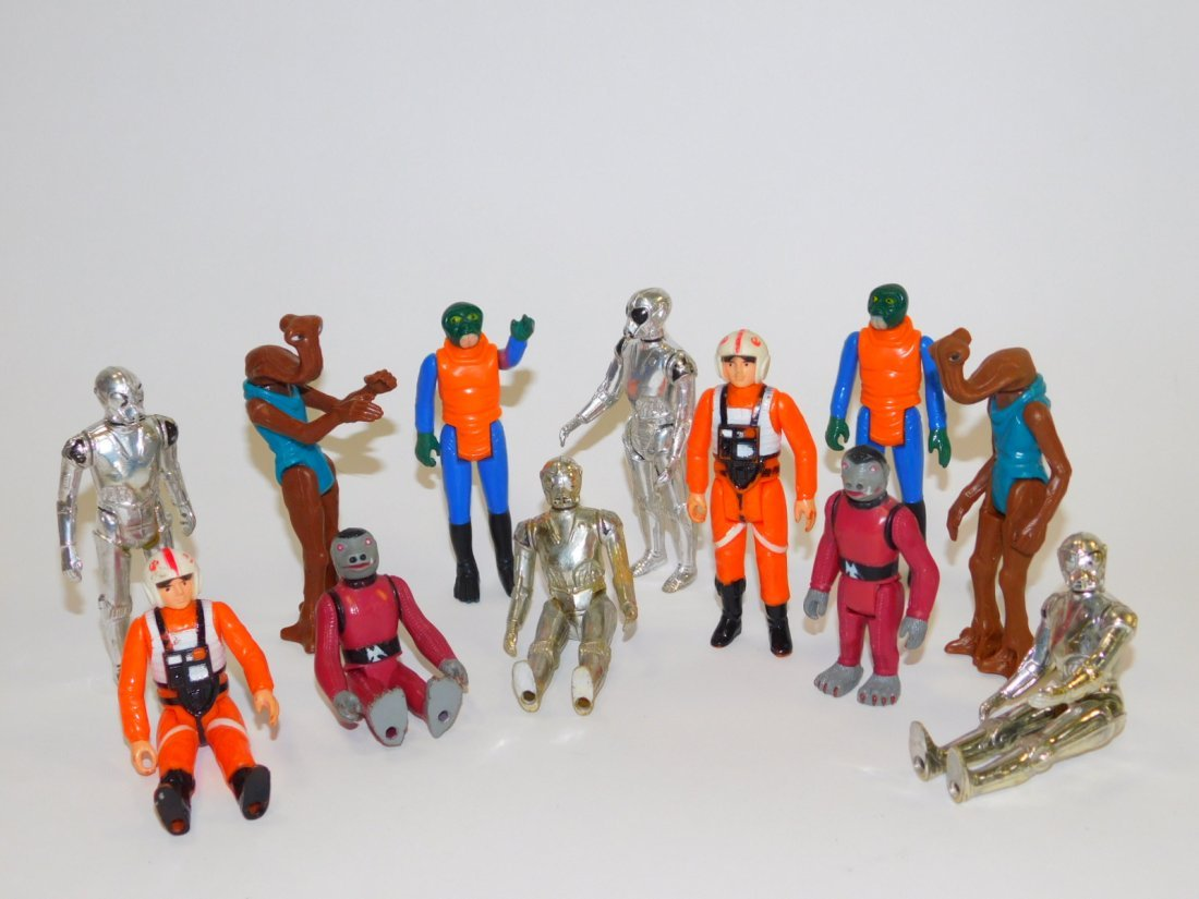 COLLECTION OF 1978 STAR WARS ACTION FIGURES