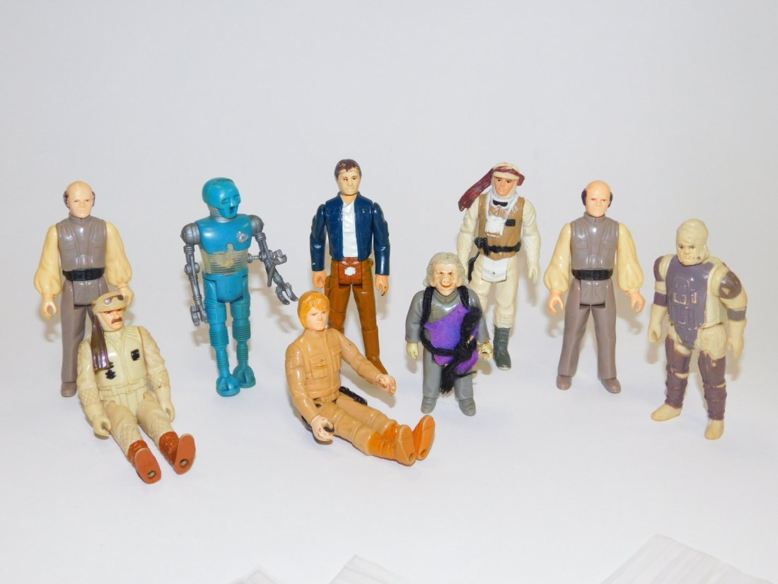 1980 STAR WARS, EMPIRE STRIKES BACK ACTION FIGURES